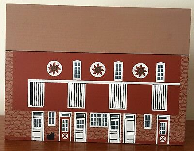 Cats Meow Village American Barn Series Pennsylvania Bank Barn 1992 NEW