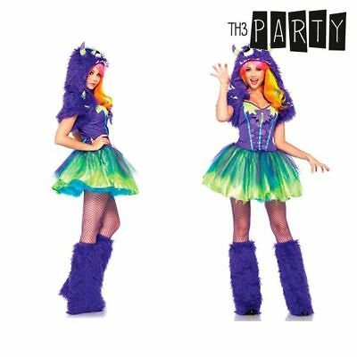 Costume per Adulti Th3 Party Mostro Porpora