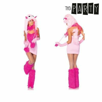 Costume per Adulti Th3 Party Mostro Rosa