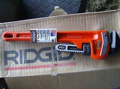 "Ridgid 14"" Pipe Wrench Brand New 31020"