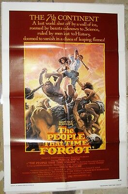 THE PEOPLE THAT TIME FORGOT, 1977,  One Sheet Movie Poster.