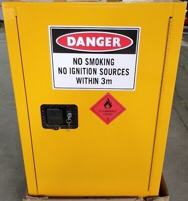 60 Litre FM Approved Dangerous Goods Flammable Liquid Safety Storage Cabinet