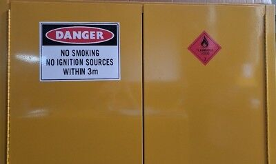 113 Litre FM Approved Dangerous Goods Flammable Liquid Safety Storage Cabinet