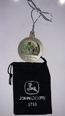 NEW John Deere 2010 8410T Track Tractor Pewter Ornament No 15 in Series PMDC0201