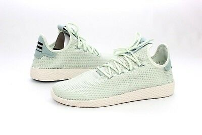 09bcb1834be96 Adidas Pharrell Williams PW Tennis HU Linen Green Tactile Mens Size 9 US  CP9765