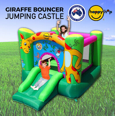 HAPPY HOP 9403 Inflatable Giraffe Jumping Castle Bounce House