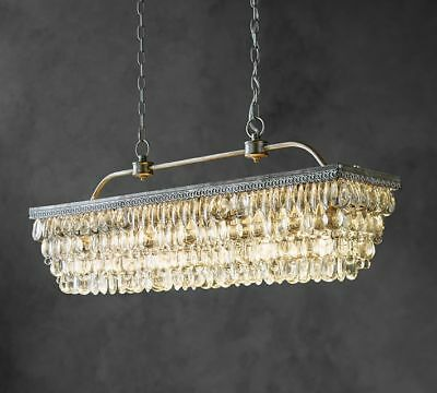 Pottery Barn Rectangular Chandelier Best Home Decorating Ideas