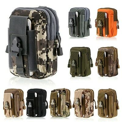 Tactical Military Molle Waist Packs Belt Fanny Bag Camping & Hiking Pouch Wallet