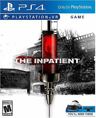 The Inpatient - PlayStation VR PS4 - NEW & SEALED!