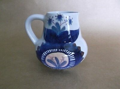 Royal Copenhagen Aluminia Tenera Faience Pitcher, Denmark, Marianne Johnson