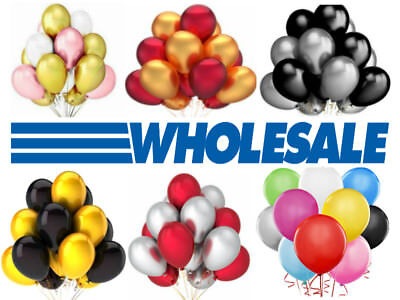 500 LARGE PLAIN BALONS BALLONS HELIUM BALLOONS Birthday Wedding BALOONS PARTY