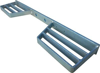 Double Tow bar STEP High Quality Heavy Duty Galvanised - Fast Dispatch