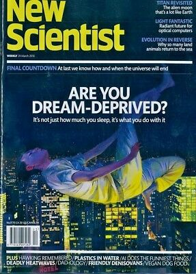 NEW SCIENTIST MAGAZINE 24th MAR 2018 ~ SPECIAL OFFER BUY ANY 6 ISSUES FOR £10.00