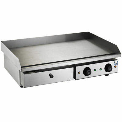 Omega 4.4Kw Double Sided Counter Top Electric Griddle / Flat Hot Plate