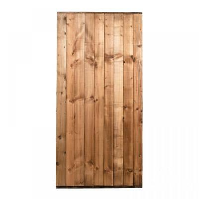 Feather Edge Gate 3ft x 6ft Pressure Treated Braced and Ledged