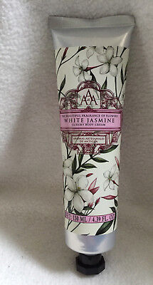 AAA Floral White Jasmine Luxury Body Cream 130ml - The Somerset Toiletry Company