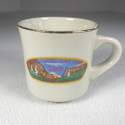 "Goshen Scout Reservation Mug 30th National Capital Area Council 3.5"" Tall"