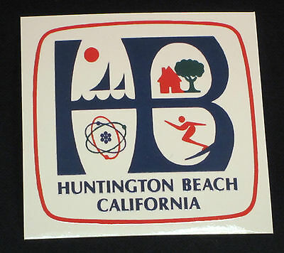 Huntington Beach CA Sticker