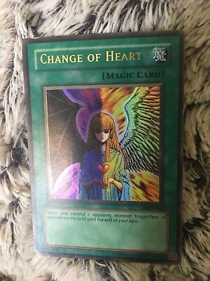 Yugioh Change of Heart Rare MRD-060 Holographic Magic Card