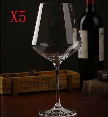 New 5X Capacity 680ML Height 245MM Transparent Red Wine Glass/Glassware %