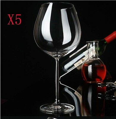 New 5X Capacity  480ML  Height  230MM  Transparent  Red Wine Glass/Glassware %