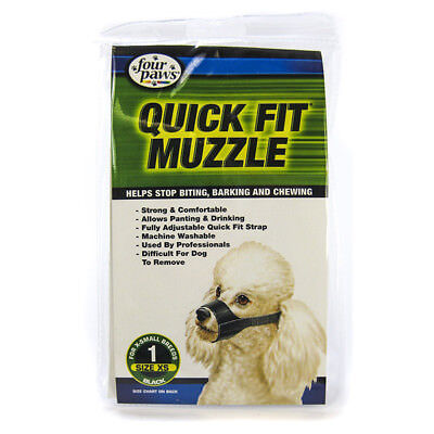 FOUR PAWS - Quick Fit Muzzle for Dogs - Size 1