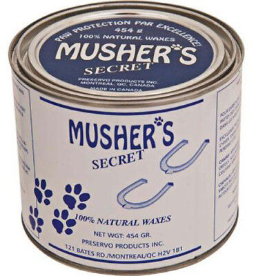 MUSHERS SECRET - Paw Protection Wax for Dogs - 1 Lbs. (454 g)