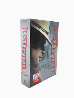 Justified The Complete Series (DVD 2015 18Disc) Season 1 2 3 4 5 6 Free Shipping