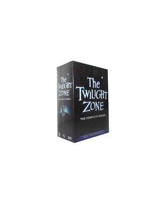 The Twilight Zone: The Complete Series (DVD 2016, 25-Disc Set) New Free Shipping