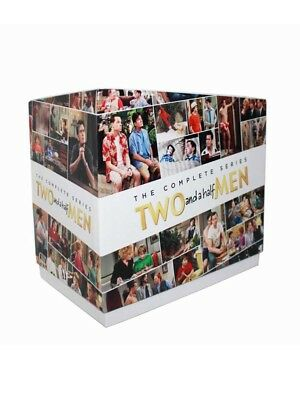 Two and a Half Men The Complete Series DVD Seasons 1-12 Brand New Free Shipping
