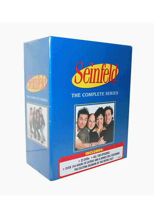 Seinfeld The Complete Series Season 1 2 3 4 5 6 7 8 9 New Free Shipping