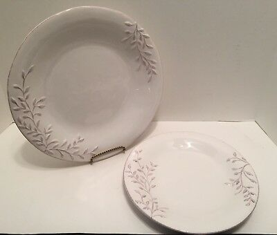 Sonoma Life + Style GREENHOUSE Dinner and Salad Plates Set of 2 Green House