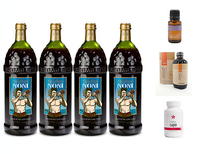 Tahitian Noni Juice 4 bottle case With FREE Essential Oil of your choosing SALE!