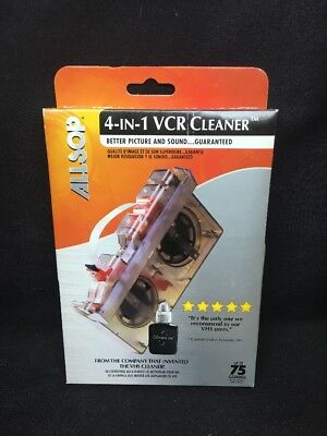 (BU) Allsop 4 In 1 VCR Cleaner; New; Free US Shipping