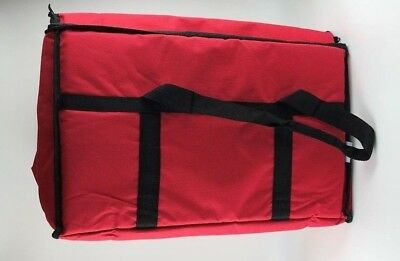 Insulated Thermal Food Pizza Delivery Carrying Bag Travel Hot Pizza Pie Big