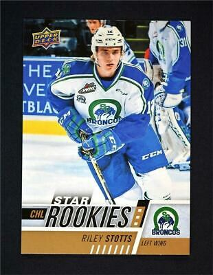 2017-18 Upper Deck UD CHL Star Rookies #321 Riley Stotts RC SP