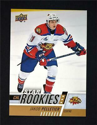 2017-18 Upper Deck UD CHL Star Rookies #354 Jakob Pelletier RC SP