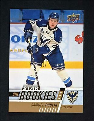 2017-18 Upper Deck UD CHL Star Rookies #371 Samuel Poulin RC SP