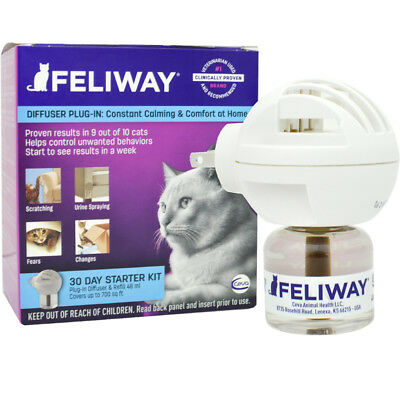 New CEVA Animal Health Feliway Diffuser Kit Diffuser (48 mL) - Ships Free!