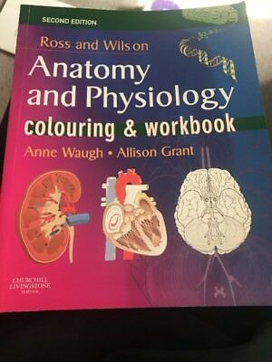NEW ROSS AND Wilson Anatomy and Physiology Colouring and Workbook By ...