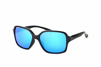 Oakley Women's OO9312-06  Proxy Sunglasses Matte Black Sapphire Iridium Lens