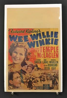 Wee Willie Winkie Movie Poster Window Card Shirley Temple    *Hollywood Posters*