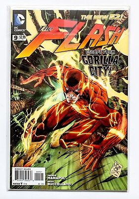 The Flash # 9 : Variant cover
