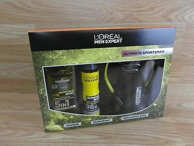 L'Oreal Men Expert Ultimate Sportsman Gift Set, 3-Piece Set New Factory Sealed