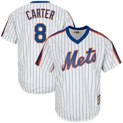 MLB Baseball Trikot Jersey New York NY Mets Gary Carter 8 Cooperstown