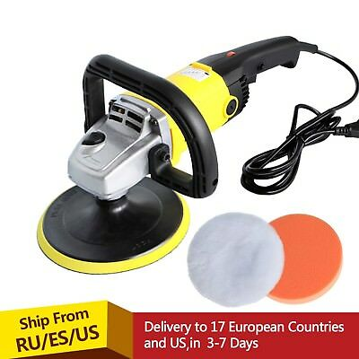 Car Paint Care Tool Polishing Machine Sander 1200W Variable Speed 3000rpm 180mm