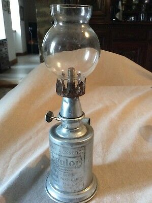 Antique French Wine Cellar Oil Lampe Pigeon