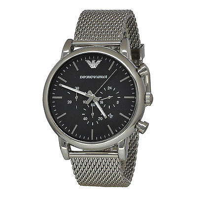 Emporio Armani AR1808 Mens Classic Chronograph Stainless Steel Analogue Watch