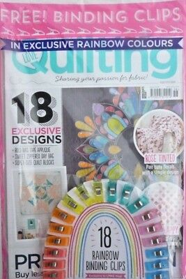 Love Patchwork & Quilting Magazine #58 - 2018 ~ Sealed Pack With Free Gifts ~