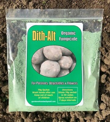 Dith-Alt ORGANIC Potato Blight Fungicide not Dithane Flowers Roses Vegetables